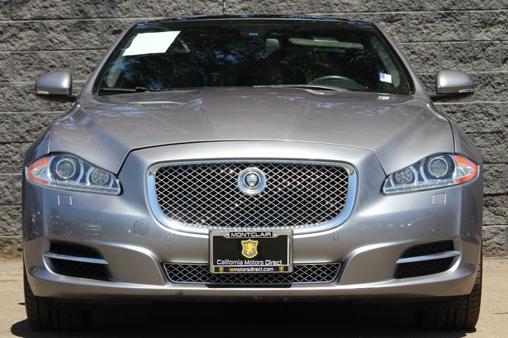2013 Jaguar XJ Supercharged  Gray All advertised prices exclude government fees and taxes any