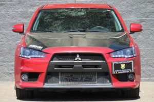 2015 Mitsubishi Lancer Evolution GSR  Rally Red All advertised prices exclude government fees a