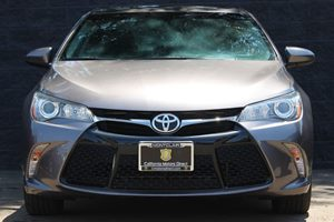 2015 Toyota Camry SE  Gray All advertised prices exclude government fees and taxes any finance