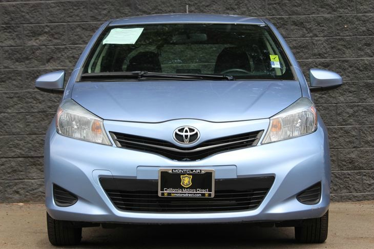 2013 Toyota Yaris 5-Door LE  Blue All advertised prices exclude government fees and taxes any