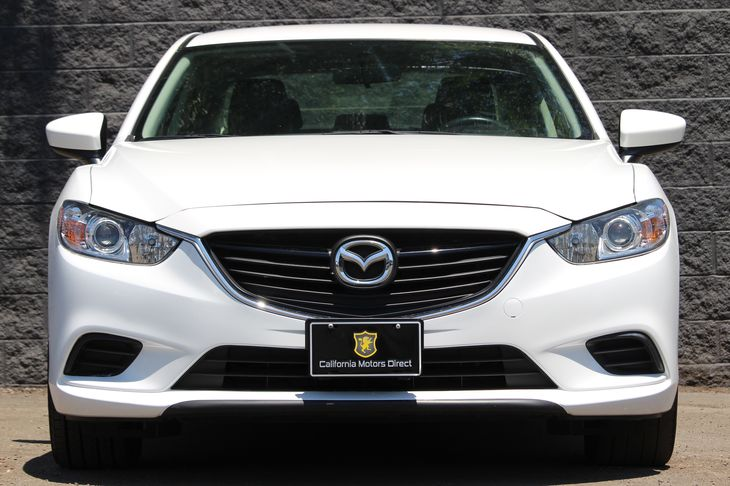 2016 Mazda Mazda6 i Sport  Snowflake White Pearl Mica All advertised prices exclude government