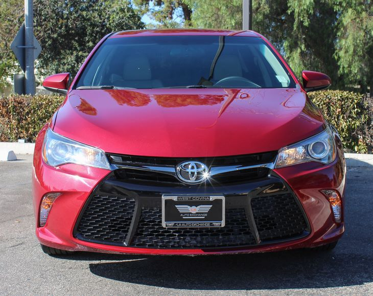2015 Toyota Camry SE Special Color - Ruby Flare Pearl Air Conditioning AC Audio Auxiliary Aud