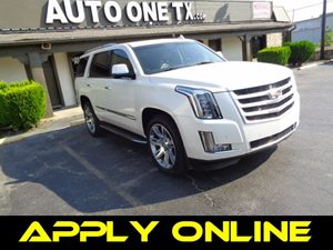 2015 Cadillac Escalade Luxury Carfax Report Lpo 22 559 Cm 6-Spoke Split Chrome Wheels Lpo