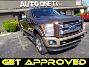 2011 Ford Super Duty F-250 SRW 4WD Crew Cab 6-34 Ft Box XL Carfax Report Chrome Pkg King Ranch