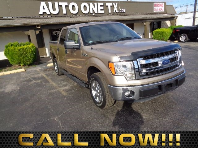 2014 Ford F-150 FX2 60-40 Folding Split-Bench Front Facing Fold-Up Cushion Rear Seat Air Conditio