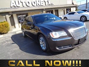 2012 Chrysler 300  Carfax Report 6040 Folding Rear Bench Seat 8-Way Pwr Driver Seat 84 Touc