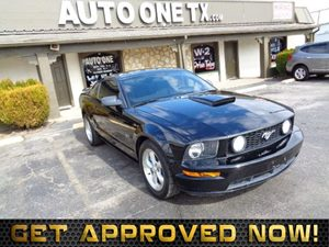 2007 Ford Mustang GT Deluxe Carfax Report Front Seat Side-Mounted Air Bags Audio Auxiliary Audi