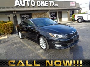 2014 Kia Optima EX Carfax Report 60-40 Folding Bench Front Facing Fold Forward Seatback Rear Seat