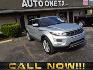 2012 Land Rover Range Rover Evoque Pure Plus 8 High Resolution Touch Screen Display -Inc Intuit