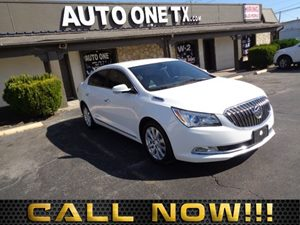 2014 Buick LaCrosse Leather Air Conditioning Multi-Zone AC Audio Auxiliary Audio Input Audio