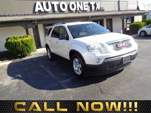 2011 GMC Acadia SLE Carfax Report Audio Auxiliary Audio Input Audio Cd Player Audio Mp3 Play