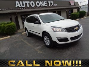 2015 Chevrolet Traverse LS Audio System Feature Standard Speaker System Audio Auxiliary Audio I