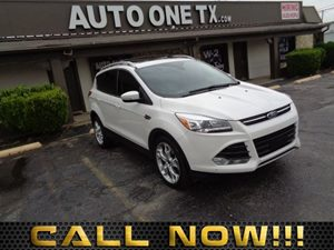 2015 Ford Escape Titanium Engine 20L Ecoboost Power Panorama Roof Roof Cross Bars Air Conditi