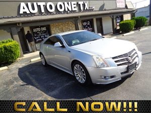 2011 Cadillac CTS Coupe Performance Audio Auxiliary Audio Input Audio Cd Player Audio Hard Di