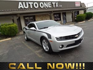 2012 Chevrolet Camaro 1LT Transmission 6-Speed Automatic Audio Auxiliary Audio Input Audio Cd