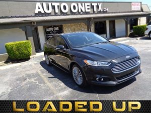 2014 Ford Fusion Titanium Hybrid Heated Steering Wheel HeatedCooled Driver And Passenger Seats