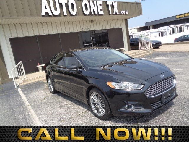 2014 Ford Fusion Titanium 60-40 Folding Bench Front Facing Fold Forward Seatback Leather Rear Seat