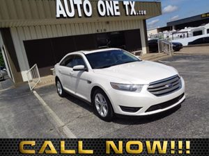 2014 Ford Taurus SEL 60-40 Folding Bench Front Facing Fold Forward Seatback Rear Seat Air Conditi
