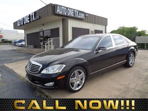 2007 MERCEDES S550 Sedan Panorama Sunroof Wood  Leather Steering Wheel Air Conditioning Multi-