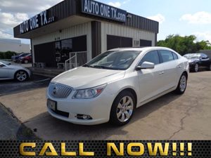 2011 Buick LaCrosse CXS Driver Confidence Package Spoiler Rear Body-Color Decklid Sunroof Pow