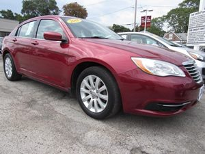 2012 Chrysler 200 Touring Carfax Report Audio  Cd Player Audio  Mp3 Player Audio  Satellite