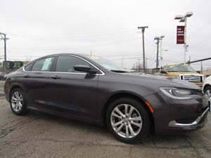 2015 Chrysler 200 Limited Carfax Report Analog Display Audio  Auxiliary Audio Input Audio  Mp