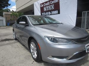 2015 Chrysler 200 Limited Carfax Report 2 12V Dc Power Outlets Analog Display Audio  Auxiliary