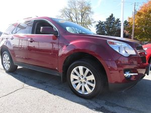 2010 Chevrolet Equinox LT w2LT Carfax Report Air Conditioning Single-Zone Automatic Climate Con