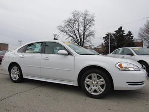 2012 Chevrolet Impala LS Fleet Carfax Report Audio  AmFm Stereo Audio  Cd Player Convenience