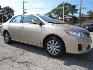 2013 Toyota Corolla LE 12V Aux Pwr Outlet Audio  Cd Player Audio  Mp3 Player Convenience  Cr