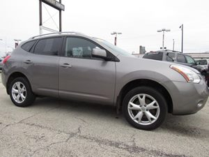 2009 Nissan Rogue SL Carfax Report 6040 Split Fold-Down Rear Bench Seat Air Conditioning  AC