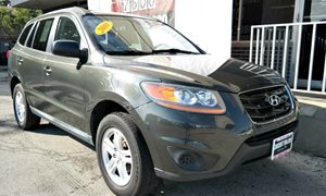 2010 Hyundai Santa Fe GLS Carfax Report 3 Aux Pwr Outlets Audio  Auxiliary Audio Input Audio