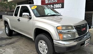 2007 GMC Canyon SLE1 Carfax Report Audio  Cd Player Convenience  Automatic Headlights Conveni