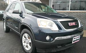 2008 GMC Acadia SLE1 Audio  Mp3 Player Convenience  Automatic Headlights Convenience  Fog Lam