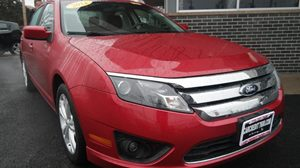 2012 Ford Fusion SE 2 12V Pwr Points 8-Way Pwr Driver WManual Lumbar  Pwr Recline Audio  Mp