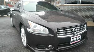 2010 Nissan Maxima 35 SV Carfax Report 8-Way Pwr Driver Seat WPwr Lumbar Support Manual Thigh