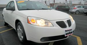 2008 Pontiac G6 1SV Value Leader Audio  Cd Player Convenience  Automatic Headlights Convenienc