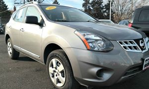 2015 Nissan Rogue Select S Carfax Report Audio  Auxiliary Audio Input Chrome Grille Convenienc