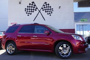2012 GMC Acadia Denali Carfax Report Audio  Premium Sound System Audio  Rear Seat Audio Contro