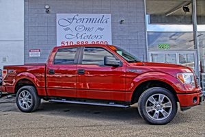 2014 Ford F-150 XL 4-Way Passenger Seat -Inc Manual Recline And ForeAft Movement 60-40 Folding