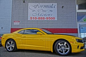 2010 Chevrolet Camaro 2SS Carfax Report Transmission 6-Speed Automatic Rally Yellow  All adve