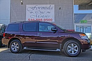 2013 Nissan Armada SV  Midnight Garnet  All advertised prices exclude government fees and taxes