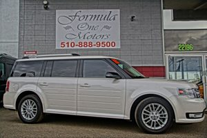 2013 Ford Flex SEL 2Nd Row 6040 Split Bench Seat -Inc Autofold Feature On Passenger 40 4-Wa