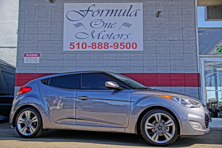 2016 Hyundai Veloster  60-40 Folding Bench Front Facing Fold Forward Seatback Rear Seat Audio  A