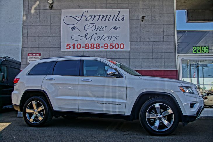 2015 Jeep Grand Cherokee Limited 6 Speakers 60-40 Folding Split-Bench Front Facing Heated Manual