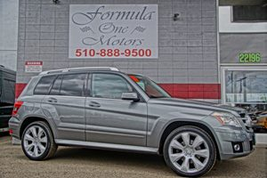 2011 MERCEDES GLK 350  8-Way Pwr Front Bucket Seats WActive Head Restraints Air Conditioning Mu