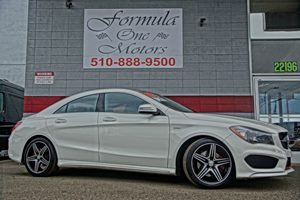 2015 MERCEDES CLA 250 Coupe 8 Speakers 8-Way Passenger Seat -Inc Manual Recline Height Adjustme
