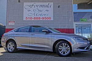2015 Chrysler 200 Limited 6 Speakers 6-Way Driver Seat -Inc Manual Recline Height Adjustment An