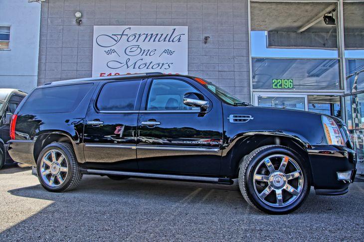2011 Cadillac Escalade ESV Premium Air Conditioning Multi-Zone AC Audio Entertainment System