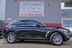 2014 INFINITI QX70  60-40 Folding Bench Front Facing Manual Reclining Fold Forward Seatback Rear S